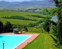Agriturismo Camilla heeft een schitterend uitzicht over de Toscaanse heuvels