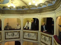 Balkons in Teatro della Concordia