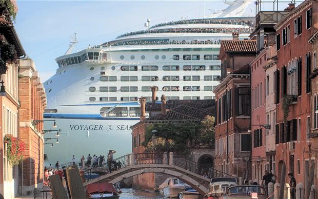 Cruiseschepen verstoren het uitzicht, aldus UNESCO-b