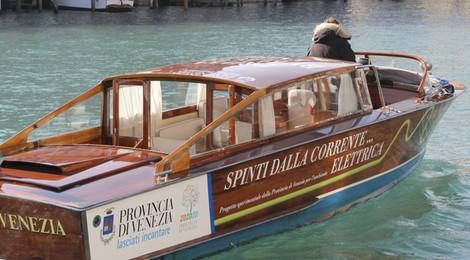 Elektrische boten Venetie