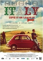 Film Italy Love it or leave it poster