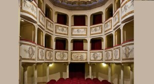 Het Teatro della Concordia in Monte Castello di Vibio
