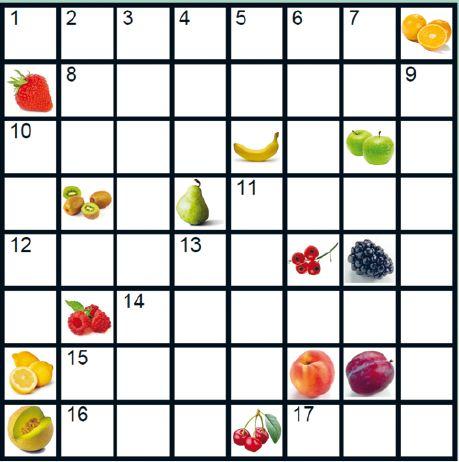 Italiaanse kruiswoord puzzel