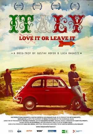 Italy love it or leave it poster
