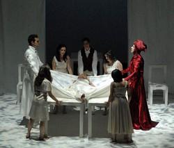 Scene uit de opera Orfeo