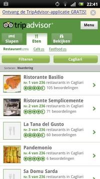 Snel de beste restaurants in Italië zoeken via de mobiele site van Trip Advisor