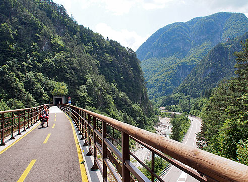 alpe adria fietsroute italie oostenrijk2