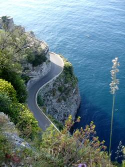 Spectaculair. De weg langs de Amalfokust