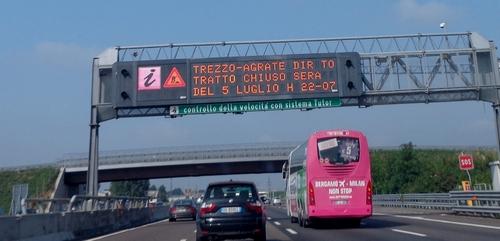borden italiaanse snelweg 2