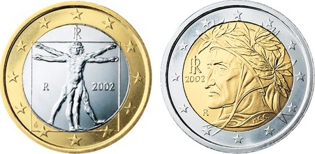 euromunten italie