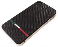iphone cover tricolori carbon italiaanse vlag