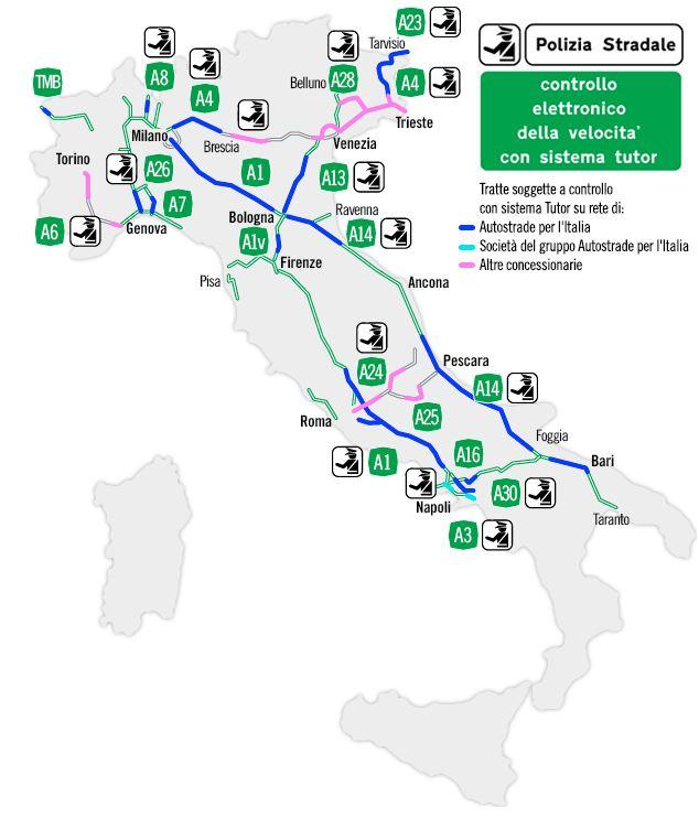 trajectcontrole-italie-snelweg