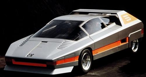 Alfa Romeo Navajo - car. Bertone - 1976