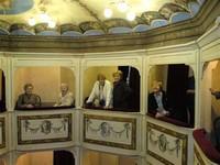 Balkons in Teatro della Concordia