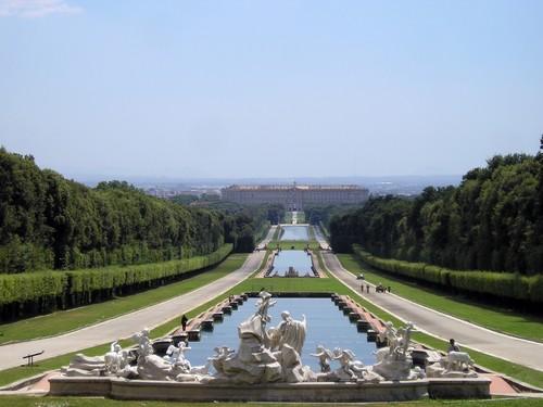 Caserta. Het Versailles van Italië nabij Napels