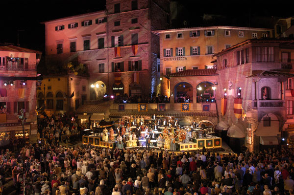 Legendarisch concert in Cortona
