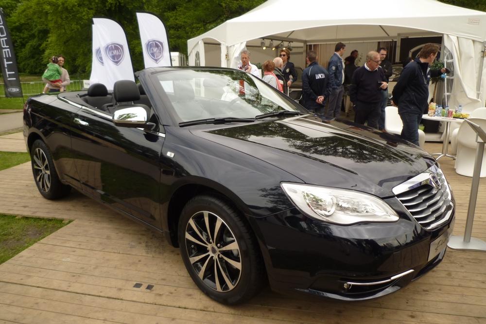 De Lancia Flavia werd in 2013 nog groots op het Italië Evenement gepresenteerd