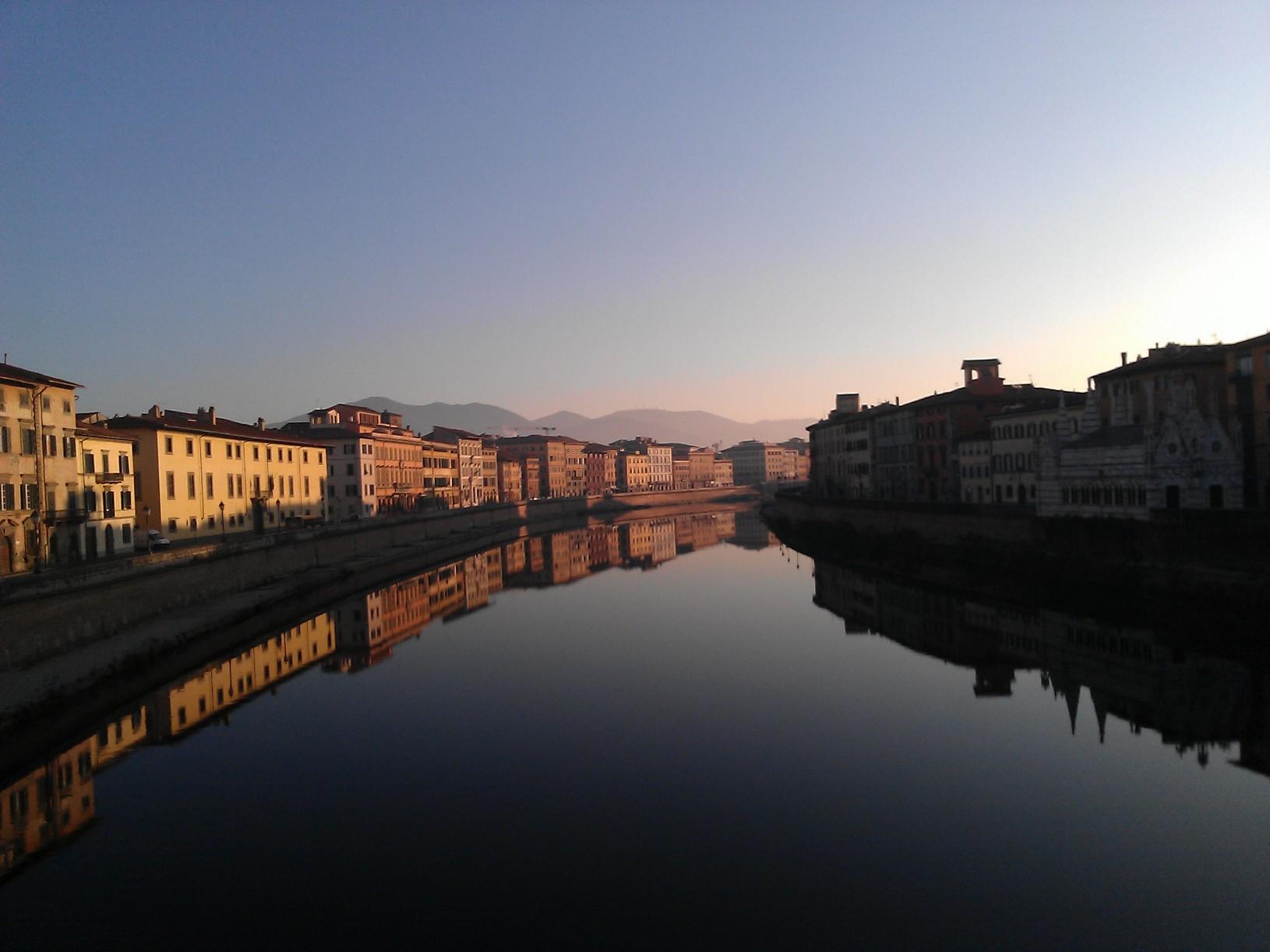 De flow van de Arno