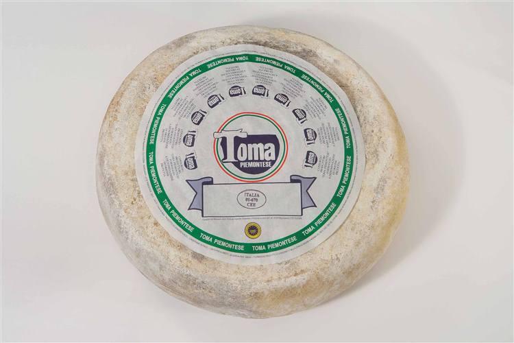 De originele Toma kaas uit Piemonte