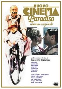 De originele filmposter van Nuovo Cinema Paradiso