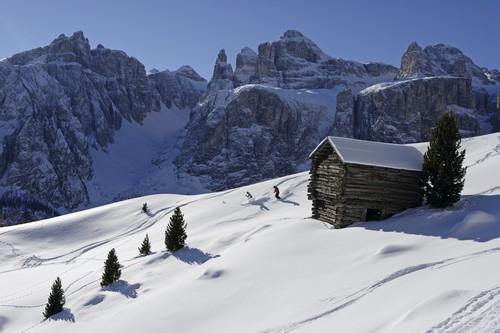 Skiën in de Italiaanse Dolomieten met 300 dagen zon en sneeuwgarantie