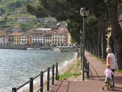 Domaso aan het Italiaanse Comomeer
