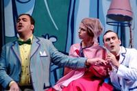 Een uitvoering van Don Pasquale in het Teatro Caio Melisso