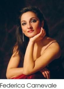 Federica Carnevale zangeres Opera Spoleto