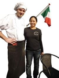 Gaetano en Yulita Mercurio van Gastronomia Italiana