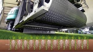 Het GrassMaster hybride grassysteem Desso