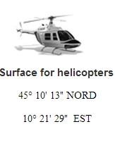 Helicopters coordinaten