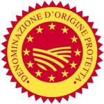 Het D.O.P logo dat de herkomst garandeerd