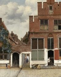 Het Straatje van Vermeer is te zien in Rome
