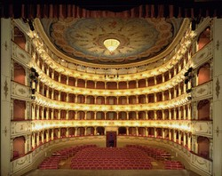 Het Teatro Rossini in Pesaro