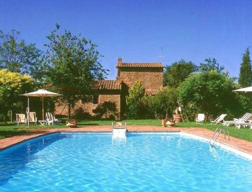 Het fraaie Casa Glicine vlakbij Arezzo (zie ook topfoto)