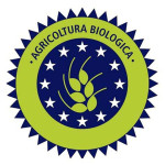 Het oude logo biologische producten wordt soms nog gebruikt