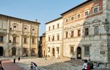 Het palazzo van Contucci in Montepulciano