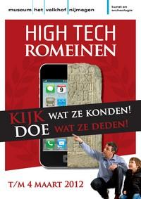 De poster van de doe-tentoonstelling High Tech in Nijmegen