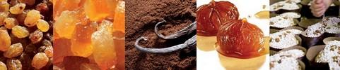 Ingredienten van de authentieke panettone van Filippi