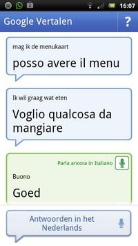 Italiaans woordenboek op je mobiel