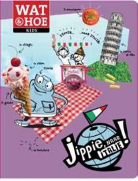 Jippie naar Italië kinderboek