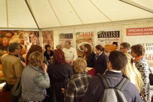 Kookartiest Marco Arganto trekt volle tenten bij La Cucina Italiana