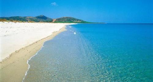 La spiaggia di Su Tiriarzu di Posada