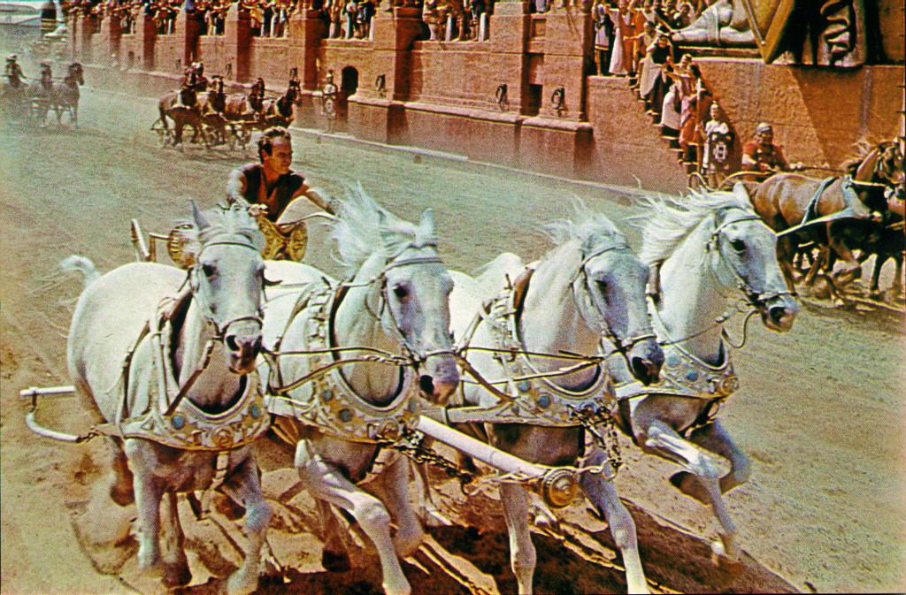 Misschien wel de beroemdste film uit Cinecitta - Ben Hur