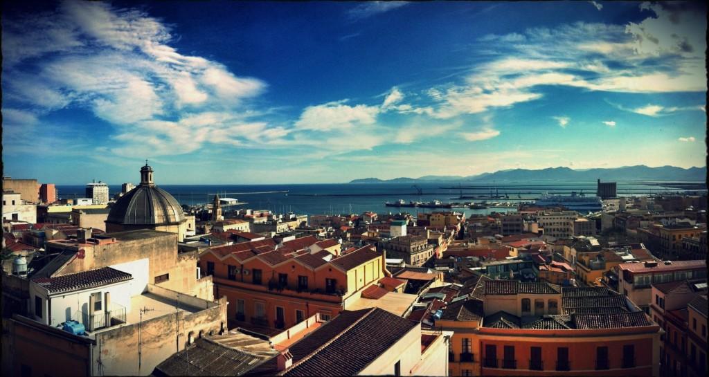 Ook Cagliari op Sardinie kent zachte winters