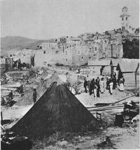 Op 23 februari 1887 werd Bussana getroffen door een aardbeving.