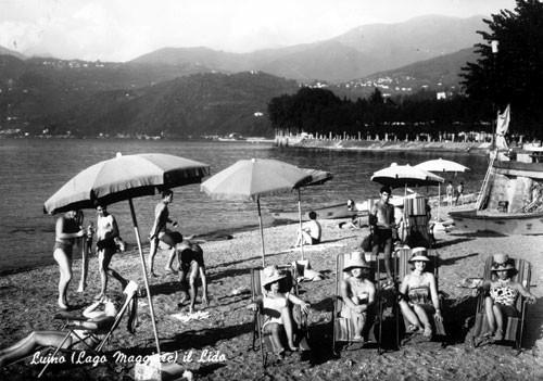 Op vakantie naar Italië in de jaren 60. Luino aan het Lago Maggiore