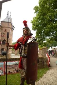 Romein tijdens het Italie Evenement