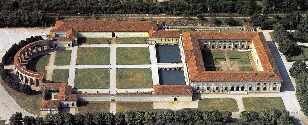 Het Palazzo Te in Mantova