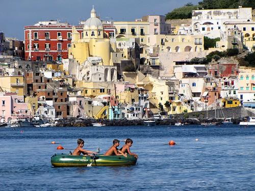 Procida Zuid Italië